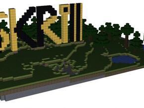 SKRill Sign 01 in Full Color Sandstone