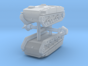 1/285 (6mm) SR-I I-Go amphibious tank (x2) in Smooth Fine Detail Plastic