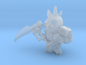 Space Reaper nostud in Smooth Fine Detail Plastic