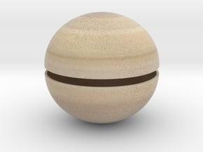 Saturn (Bifurcated) 1:1 billion in Full Color Sandstone