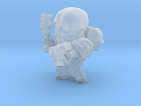 Space Priest nostud in Smooth Fine Detail Plastic