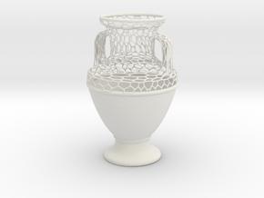 GVase SemiVoro in White Natural Versatile Plastic