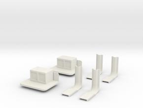 battery-box-set in White Natural Versatile Plastic