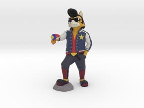 Fox McCloud + Space Dandy in Full Color Sandstone