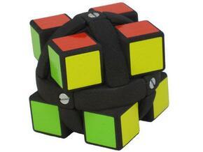 Sweet Dream Cube in White Natural Versatile Plastic
