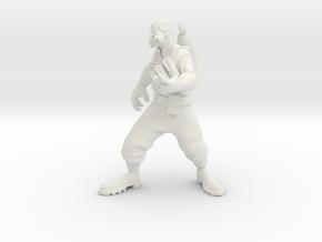 TF2 pyro in White Natural Versatile Plastic: Small
