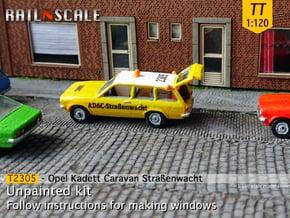 Opel Kadett Straßenwacht (TT 1:120) in Smooth Fine Detail Plastic