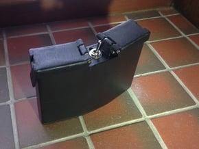 Anvis Low Profile Battery Pack in Black Natural Versatile Plastic