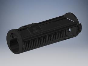 KR Hero Chassis - Main Part for Igniter in Black Natural Versatile Plastic