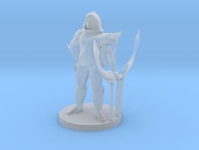 Male  Ranger in Smooth Fine Detail Plastic