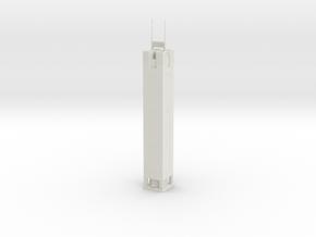 CITIC Plaza (1:1800) in White Natural Versatile Plastic