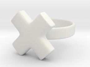The X in White Premium Versatile Plastic: 5 / 49
