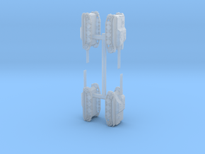 E-5 shapeways 1:285x4 in Smooth Fine Detail Plastic