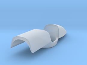 """Engine cover """"spine"""" for the Dick Simon Lola 1/20  in Smooth Fine Detail Plastic"""