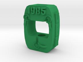 Flux Capacitor Back To The Future - White Tritium  in Green Processed Versatile Plastic