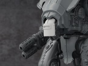Mini Knight - War Grounds Mask in Smoothest Fine Detail Plastic