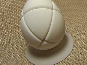 Junior Morphegg in White Natural Versatile Plastic