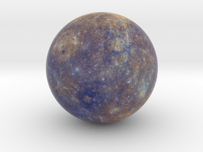 Mercury, Enhanced Color 1:250 million in Full Color Sandstone