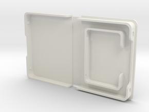 Switch Mini Game Card Case in White Natural Versatile Plastic