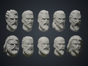Warfaces 2 - Mix Male in Smoothest Fine Detail Plastic: Medium