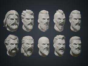Warfaces 2 - Caucasian Male in Smoothest Fine Detail Plastic: Medium