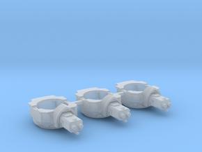 Heavy Transport Gun Turret - 3 Pack in Smooth Fine Detail Plastic
