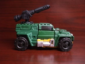 Mortar Cannon for PotP Outback(Articulated!) in Smooth Fine Detail Plastic