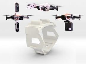 Camera or LED Belt Mount for DJi Mavic Air  in White Natural Versatile Plastic