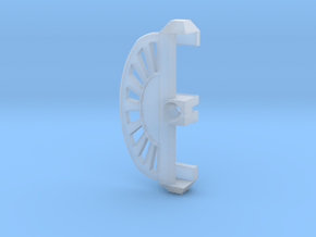 Universal Ring Dial 2 (Slider part) in Smooth Fine Detail Plastic