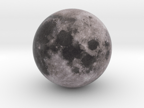 Moon 1:150 million in Natural Full Color Sandstone