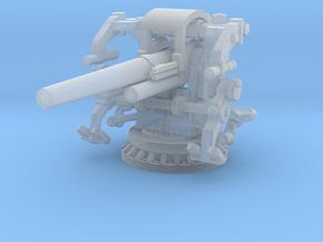 1/180 USN 5 inch 25 Gun Mount Mk40 in Smooth Fine Detail Plastic