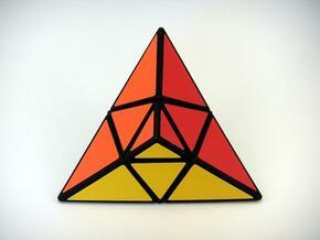 TriTangle Puzzle in White Natural Versatile Plastic
