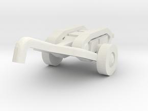 goliath (with trailer) scalle 1/100 in White Natural Versatile Plastic