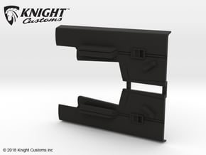 VP10002 Origin interior door liner in Black Natural Versatile Plastic
