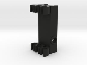 Picatinny Mount For Arrows in Black Natural Versatile Plastic