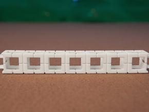 Rokenbok 7-block Beam in White Natural Versatile Plastic