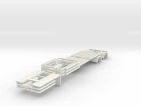 000447 Wood Logger HO 1:87 in White Natural Versatile Plastic