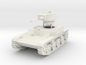 1/72 4TP (PZInz.140) Polish light tank in White Natural Versatile Plastic
