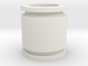 Spring Guide in White Natural Versatile Plastic