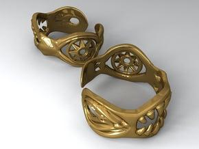 Bracelet of Lust in Polished Gold Steel