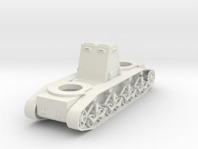 1/100 JN-2 SAB Mid-Production Hull in White Natural Versatile Plastic