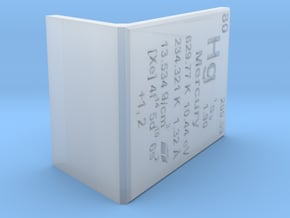 Mercury Element Stand in Smooth Fine Detail Plastic