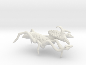 Xachni V2 in White Natural Versatile Plastic
