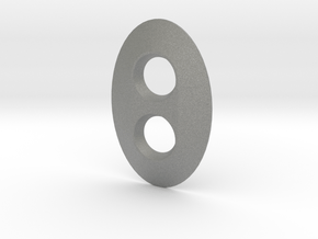 Dimmer Oval in Gray PA12