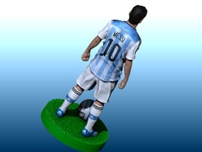 Messi world cup 2014 in Full Color Sandstone