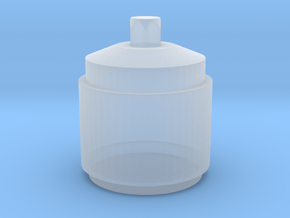 1/12 Scale Oil Tank Style #4 in Smoothest Fine Detail Plastic
