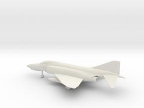McDonnell Douglas F-4E Phantom II in White Natural Versatile Plastic: 1:160 - N