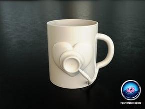 Coffee Mug - Healthcare in White Natural Versatile Plastic