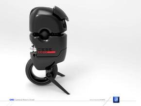 GMD Robot Mascott toy  in White Processed Versatile Plastic