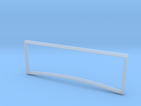 1/16  '30 Ford Windshield Frame in Smooth Fine Detail Plastic